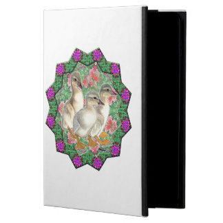 Ducklings and Flowers Case For iPad Air