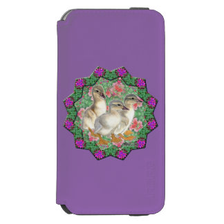 Ducklings and Flowers Incipio Watson™ iPhone 6 Wallet Case