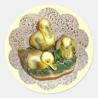 Ducklings Figurine Stickers