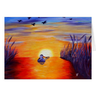 Ducks at the Lake - Greeting Card