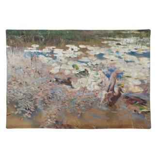 Ducks Birds Wildlife Animals Lilypads Placemat