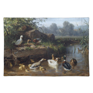 Ducks Birds Wildlife Animals Pond Placemat