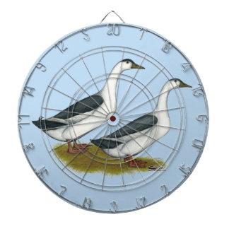Ducks:  Blue Magpies Dartboard