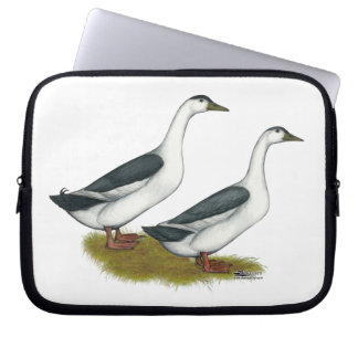 Ducks:  Blue Magpies Laptop Sleeve