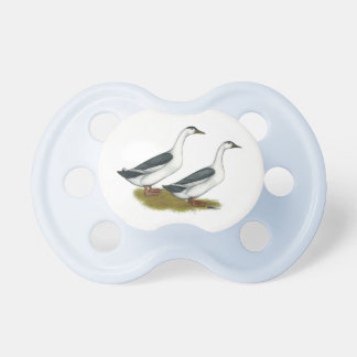 Ducks:  Blue Magpies Pacifier