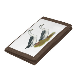 Ducks:  Blue Magpies Trifold Wallet