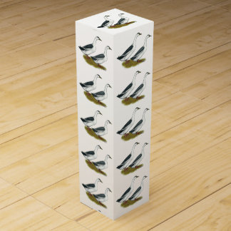 Ducks:  Blue Magpies Wine Gift Box