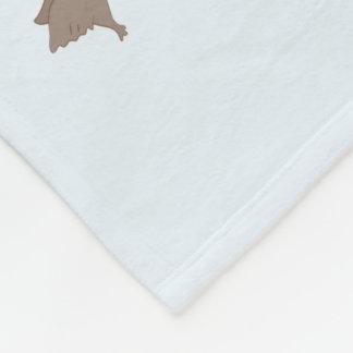 Ducks & Gator Cartoon Pattern Fleece Blanket