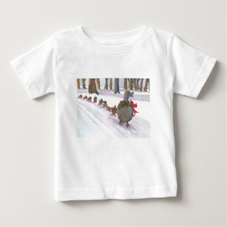 ducks in boston common during the winter holidays baby T-Shirt