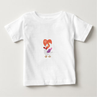 Ducks in Love Baby T-Shirt