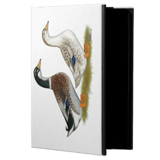 Ducks:  Silver Appleyard Cover For iPad Air