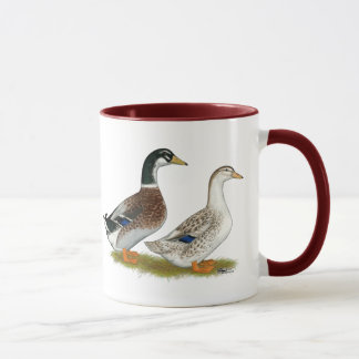 Ducks:  Silver Appleyard Mug