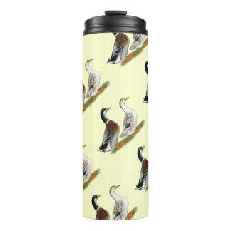 Ducks:  Silver Appleyard Thermal Tumbler