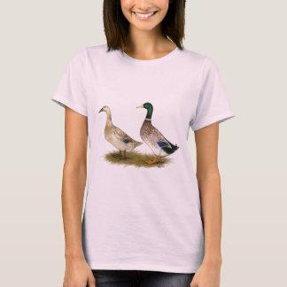 Ducks:  Silver Welsh Harlequin T-Shirt