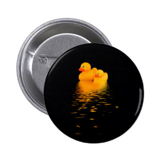 Ducks that pass in the night 2 inch round button