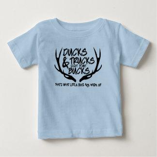 Ducks, Trucks, Bucks, That's What Boys are Made of Baby T-Shirt
