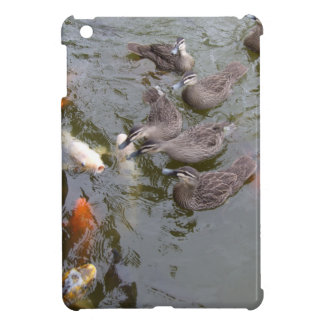 Ducks Vs Koi Ipad Mini Case