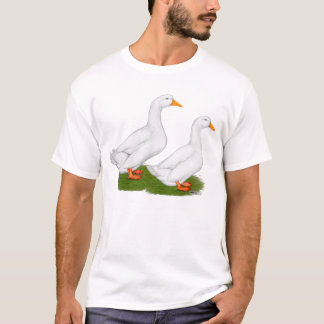 Ducks:  White Pekins T-Shirt