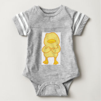 Ducky Baby Football Bodysuit