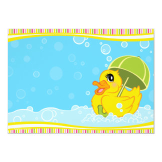 Ducky Baby Shower Invitations