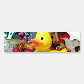 Ducky Christmas I Bumper Sticker