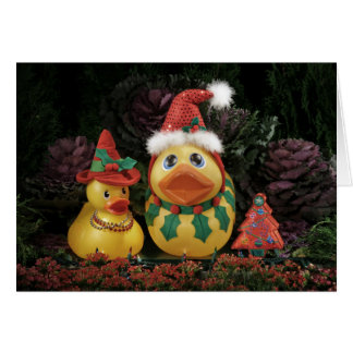 Ducky Holidays! Card