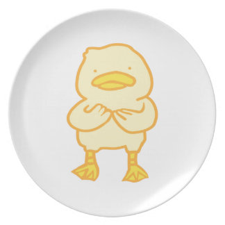 Ducky Melamine Plate