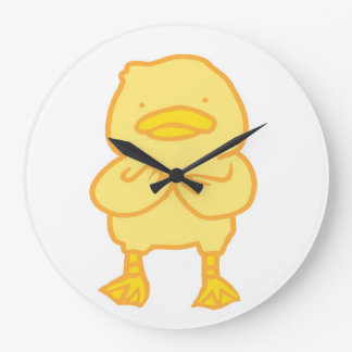 Ducky Round (Large) Clock