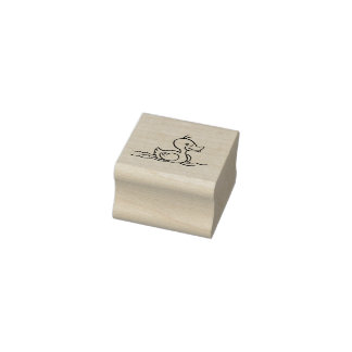 Ducky Rubber Stamp