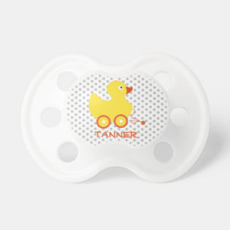 Ducky Toy Personalize It Pacifier