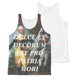 Ducle Et Decorum Est Pro Patria Mori - Tank Top
