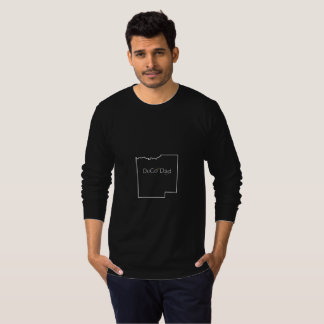 DuCo Dad Black Long Sleeve Tee