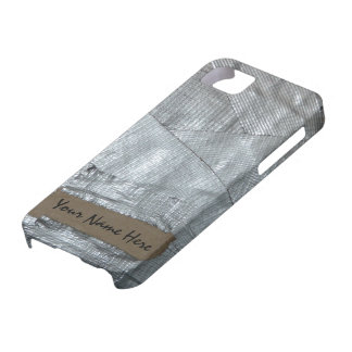 Duct Tape and Ripped Cardboard  Tag iPhone 5 Case