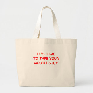 duct tape large tote bag