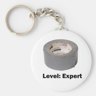 Duct Tape Level Expert Key Chains