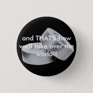 Duct Tape Rules the World 1 Inch Round Button