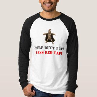 Duct Tape Super Hero Message T-Shirt