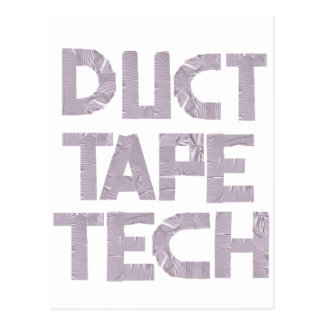 DUCT TAPE TECH POSTCARD