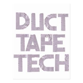 DUCT TAPE TECH POSTCARD