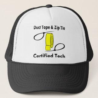 Duct Tape & Zip Tie Certified Tech Trucker Hat