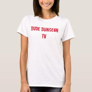 Dude Dugeon TV Plain Woman's T-shirt