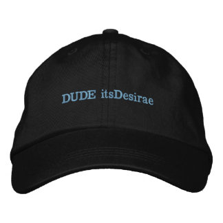 DUDE_itsDesirae Hat Embroidered Baseball Caps