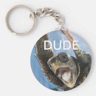 Dude Keychain