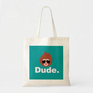 Dude Monkey Tote Bag