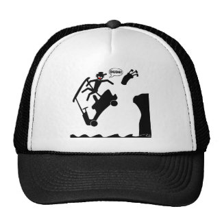 DUDE off the deck-2 Mesh Hat