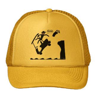 DUDE off the deck-2 Trucker Hat