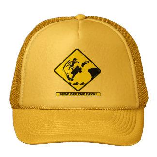 DUDE off the deck-3 Trucker Hat