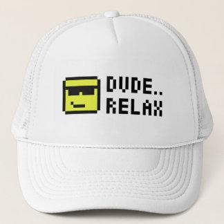 DUDE RELAX TRUCKER HAT