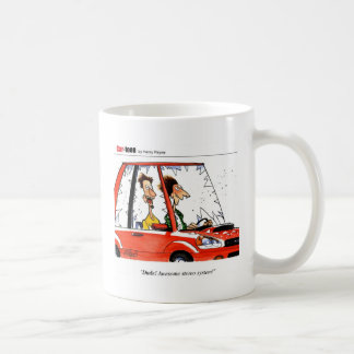 Dude Stereo cartoon Coffee Mug