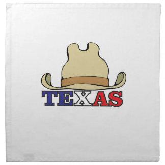 dude texas napkin
